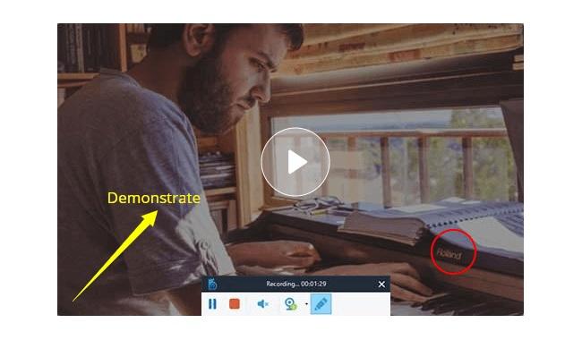 flexible screen recording