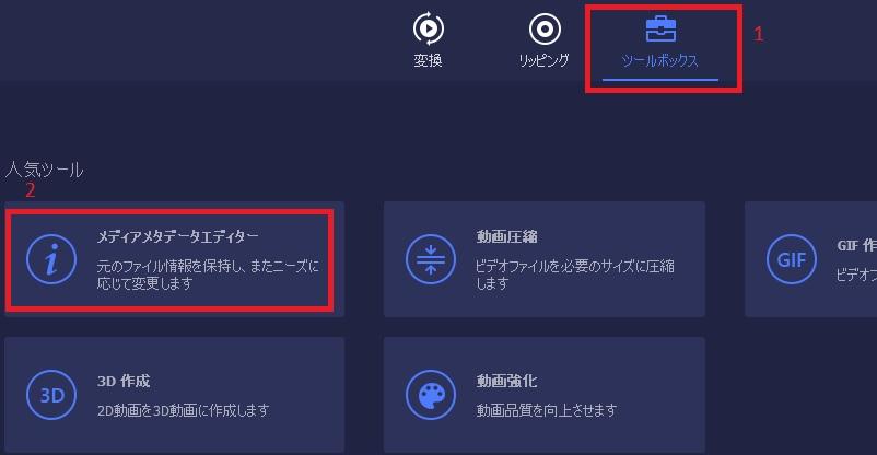 vmp jp metadata editor