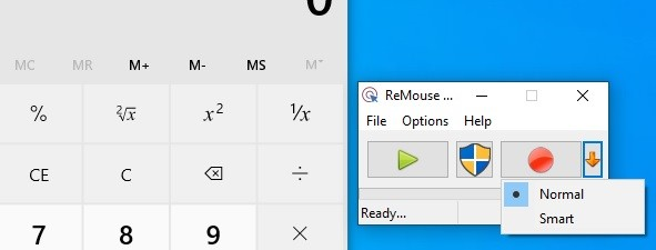 interface remouse step