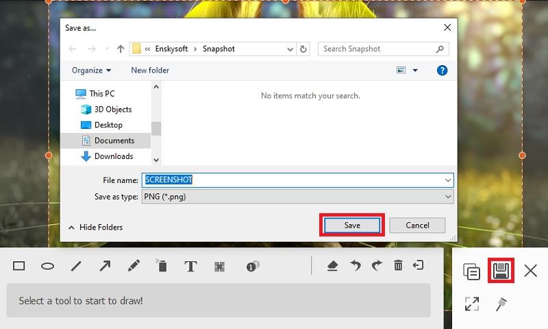 sgpremium save the screenshot step3