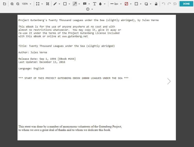 nimbus pdf screenshot step3