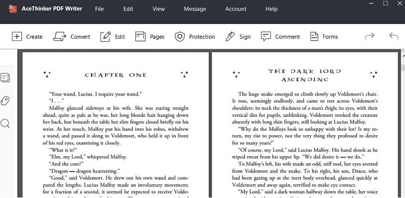 pdf writer upload and read pdf