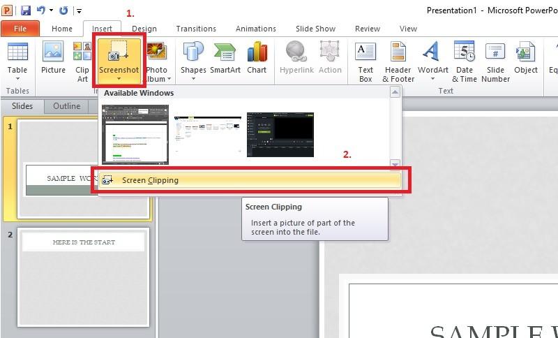 record powerpoint screenshot