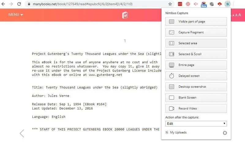 screenshot pdf step 2