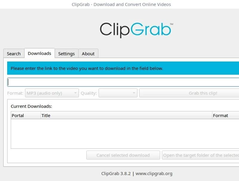 4k downloader alternative clipgrab