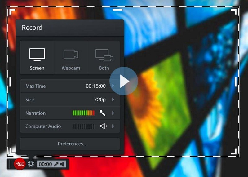 record without watermark screencast o matic