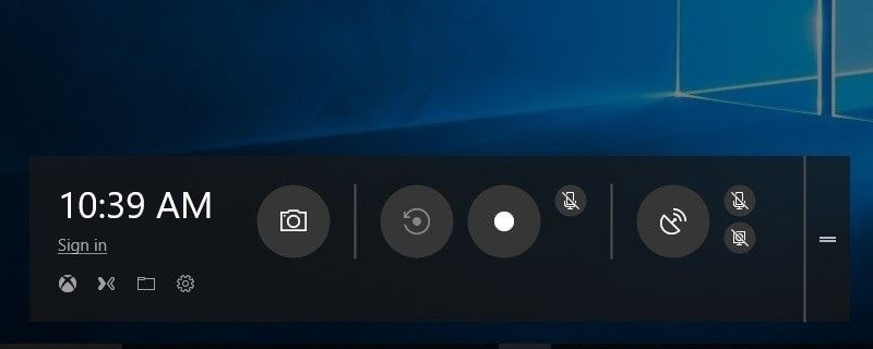 record without watermark windows10