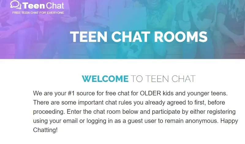 sgp Teen chat rooms