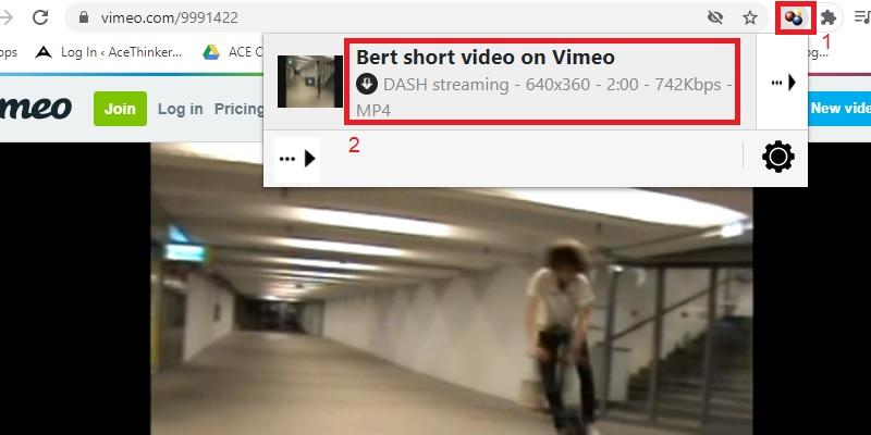 download embedded video vdhelper