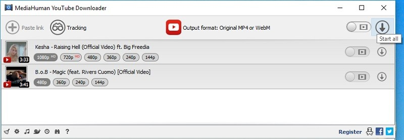 download youtube playlist mediahuman youtube downloader