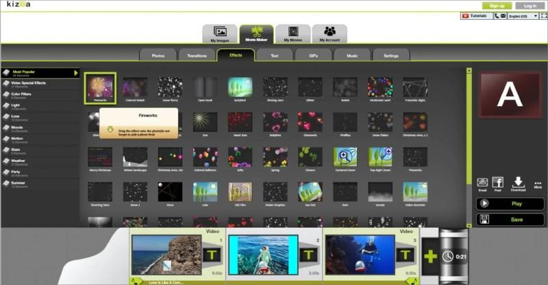 Kizoa Video Enhancer
