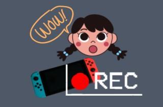 Switchのゲームプレイを記録する最も簡単な方法