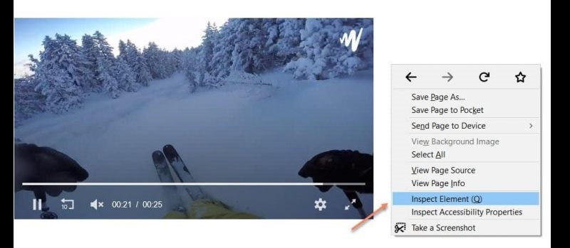 download jw player videos inspect element chrome
