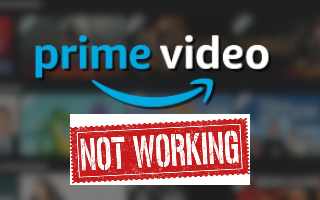 feature amazon prime not working