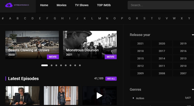 free movie streaming sites no sign up streamonhd