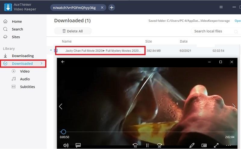 youtube longer than 2hours vk step3